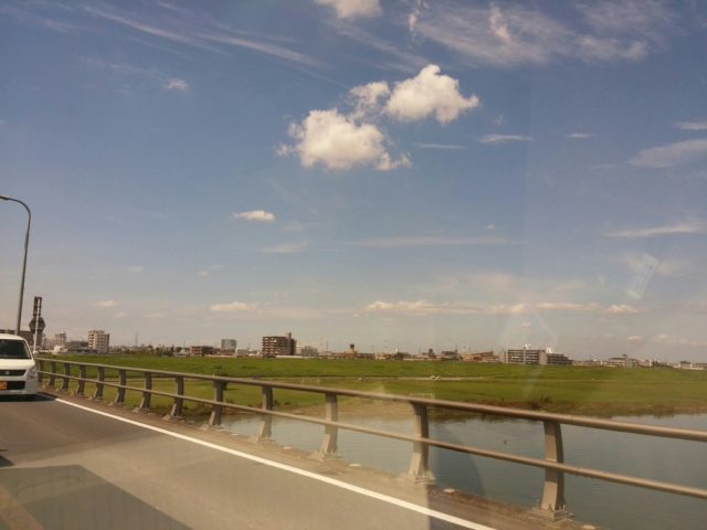 丸子橋写真