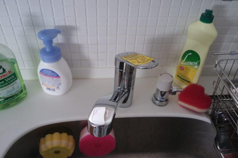 キッチン蛇口新品の写真