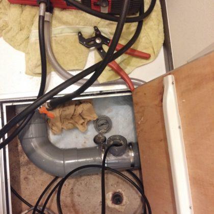 高圧洗浄の写真