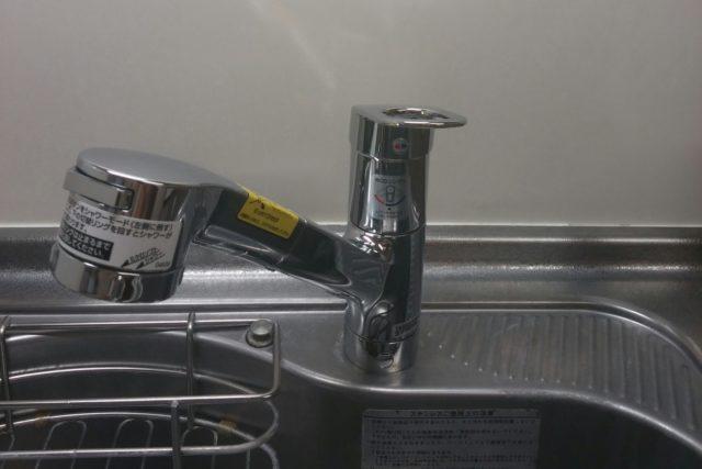 キッチン蛇口交換の写真