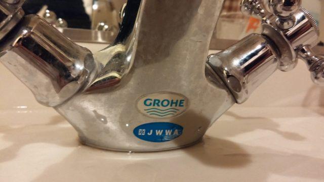 グローエ洗面蛇口の写真