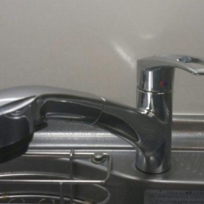 キッチンシングルレバー交換前の写真