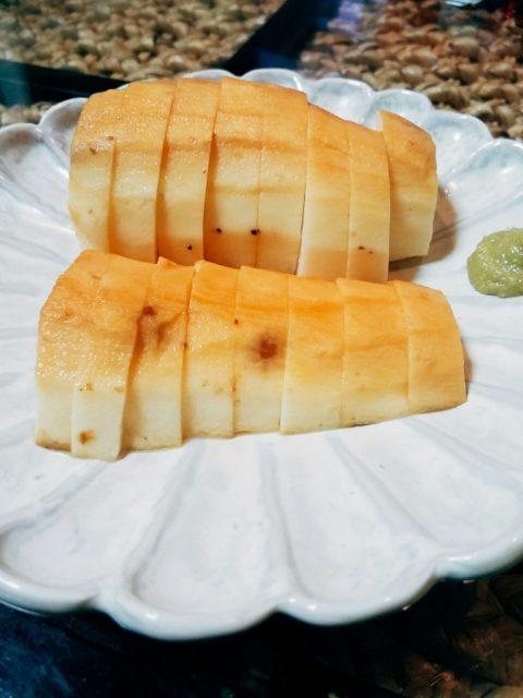 山芋の醤油漬けの写真