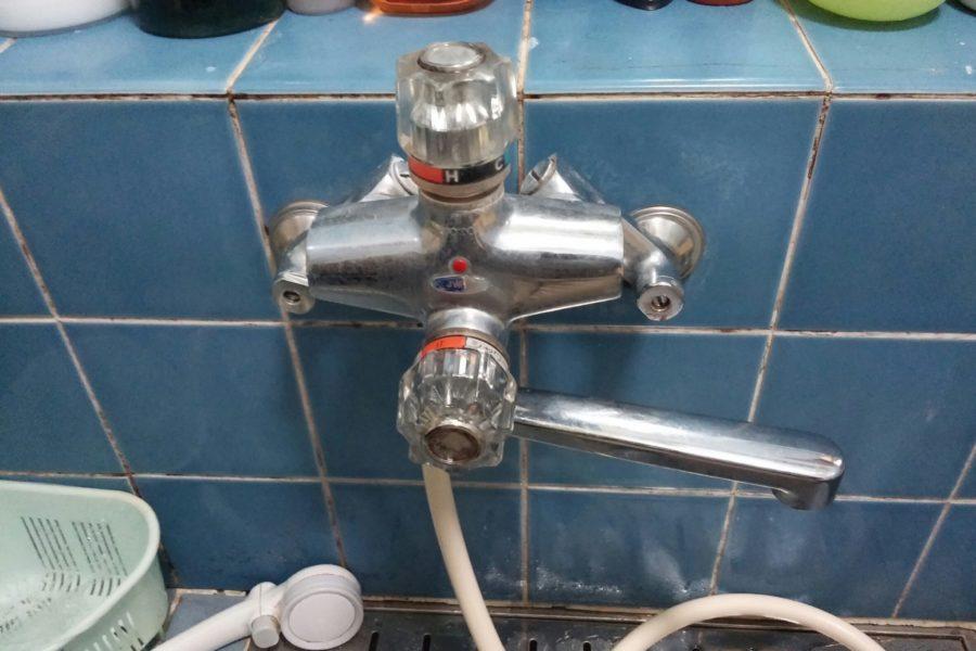 お風呂蛇口修理の写真