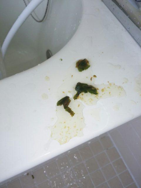 水道管汚れの写真