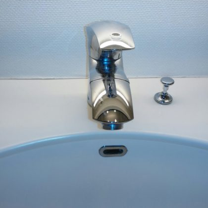 洗面所蛇口交換の写真