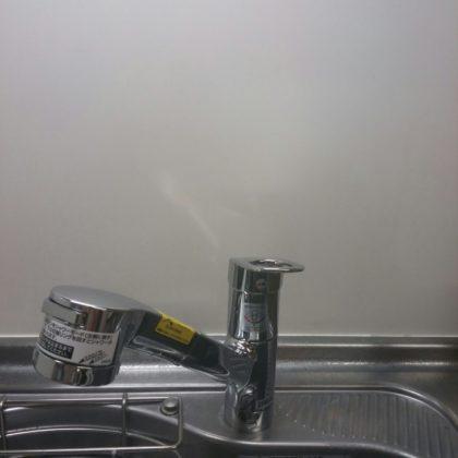 キッチン蛇口水漏れ交換の写真