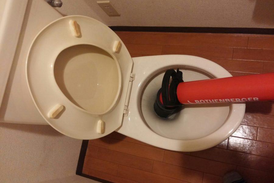 トイレつまり修理写真