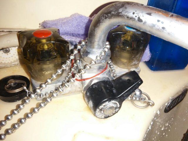 お風呂蛇口水漏れ修理