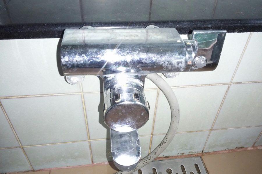 お風呂自蛇口交換写真