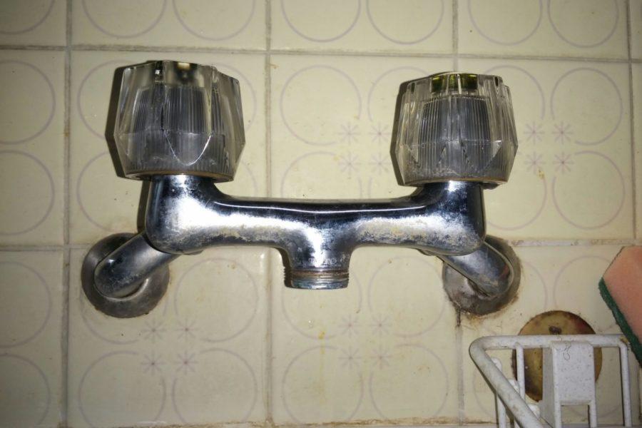 洗濯蛇口み水漏れ修理写真