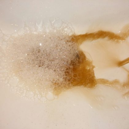 洗面所サビ修理