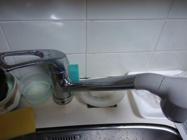 キッチン蛇口水漏れ修理