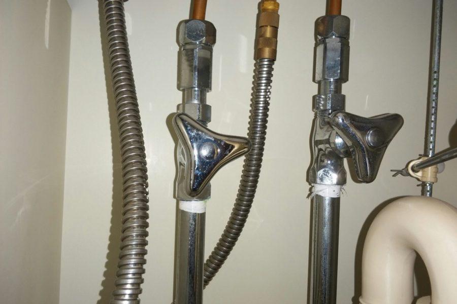 洗面所蛇口水漏れ修理