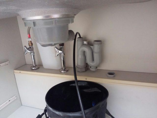 洗濯排水詰まり修理