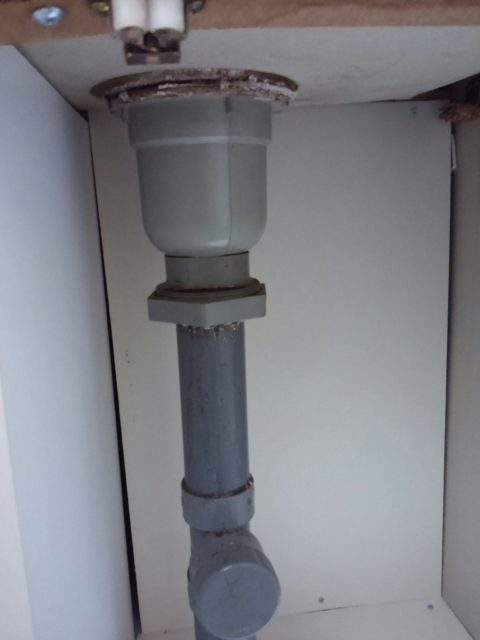 中野区台所流し水漏れ