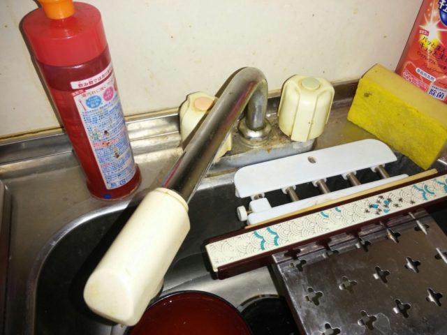 東京都港区キッチン蛇口水漏れ修理
