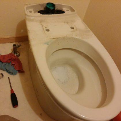 豊島区西巣鴨トイレつまり