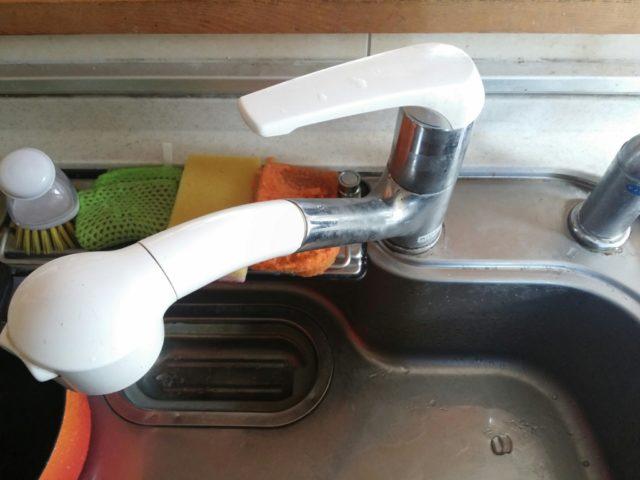 目黒区キッチン蛇口水漏れ修理