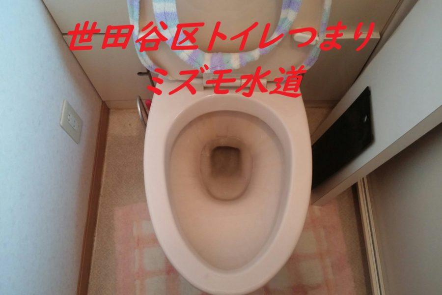 世田谷区赤堤トイレつまり修理業者