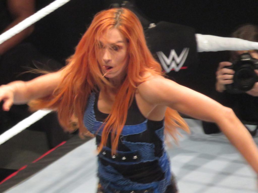 WWEスーパースターの写真。