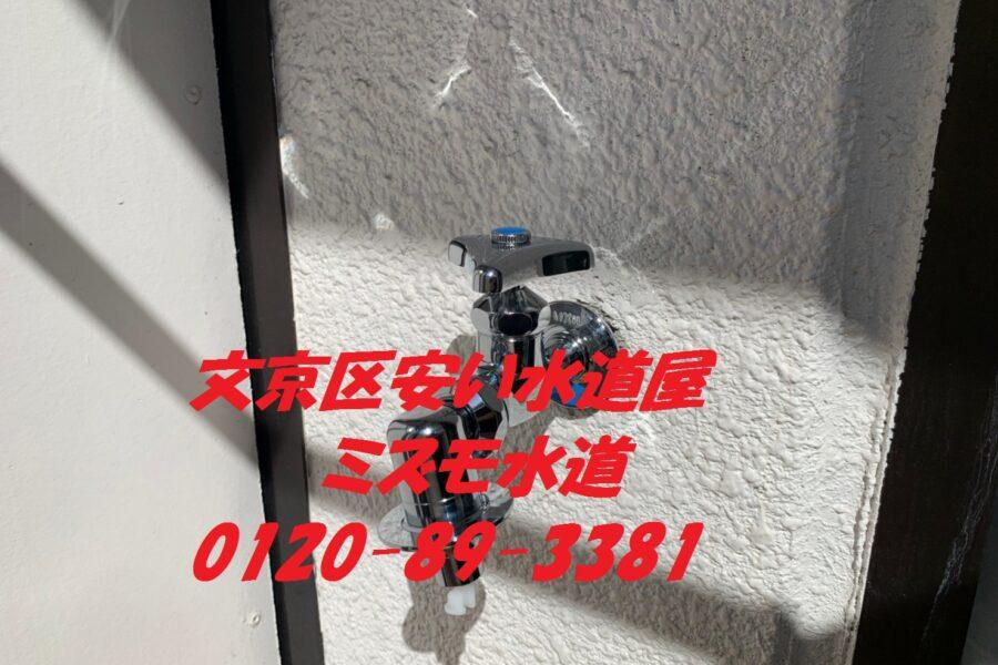 文京区洗濯蛇口修理